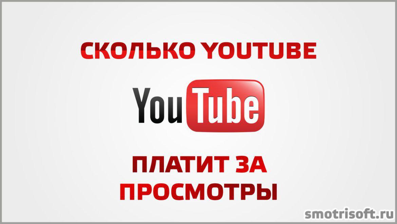 Сколько youtube платит за просмотры