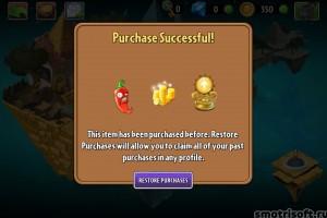 Plants VS Zombies 2 перенос покупок (10)