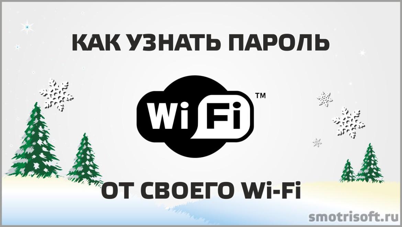 Как узнать пароль от своего Wi-Fi