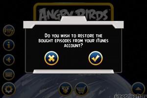 Как восстановить покупки Angry Birds Star Wars (3)