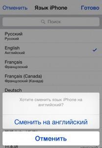 Как сменить язык игры в айфоне (6)