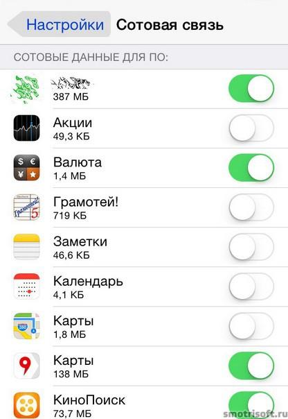 Как сохранить заряд батареи на iOS 8 (22)