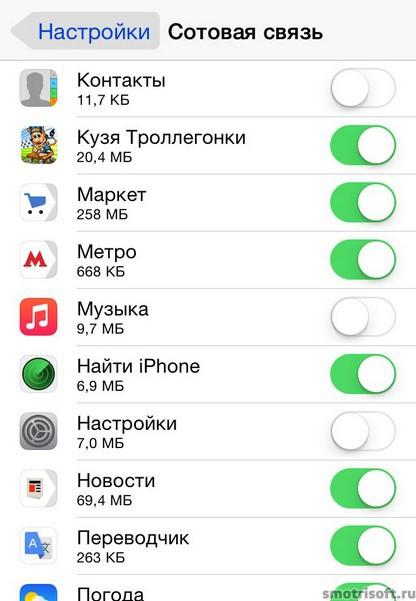Как сохранить заряд батареи на iOS 8 (25)