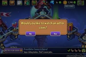 Как заработать монет в Plants vs Zombies 2 (2)