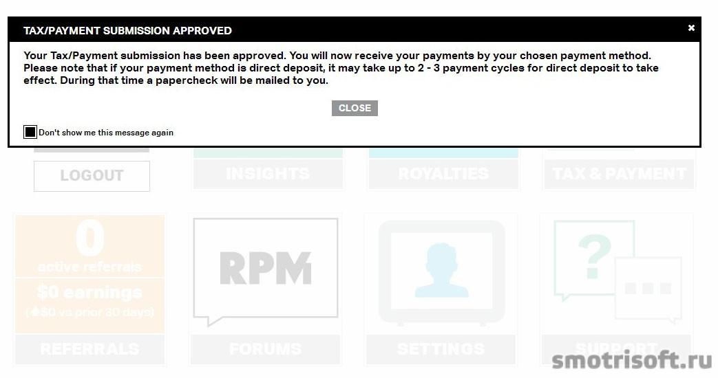 Youtube - Партнерка Maker Studios (RPM) (115) Контракт отобрен W8-BEN одобрен