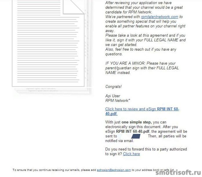 Youtube - Партнерка Maker Studios (RPM) (51) контракт по имейлу