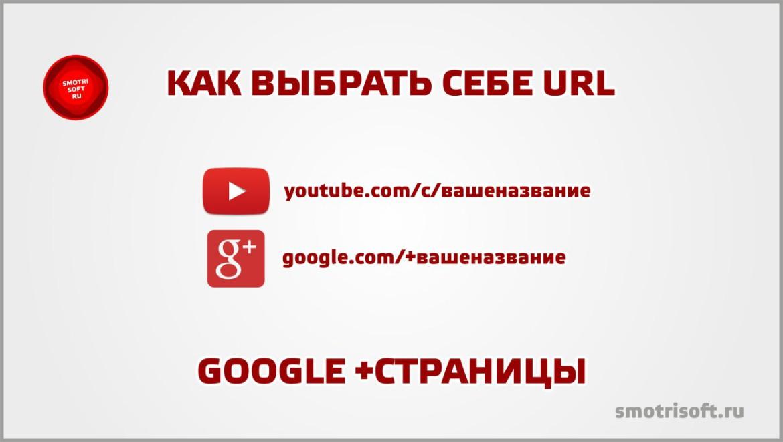 Как выбрать себе URL Google +страницы