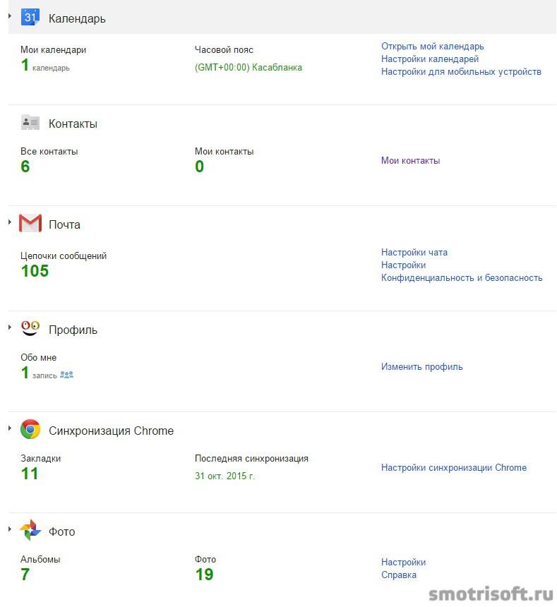 Личный кабинет Google (6)