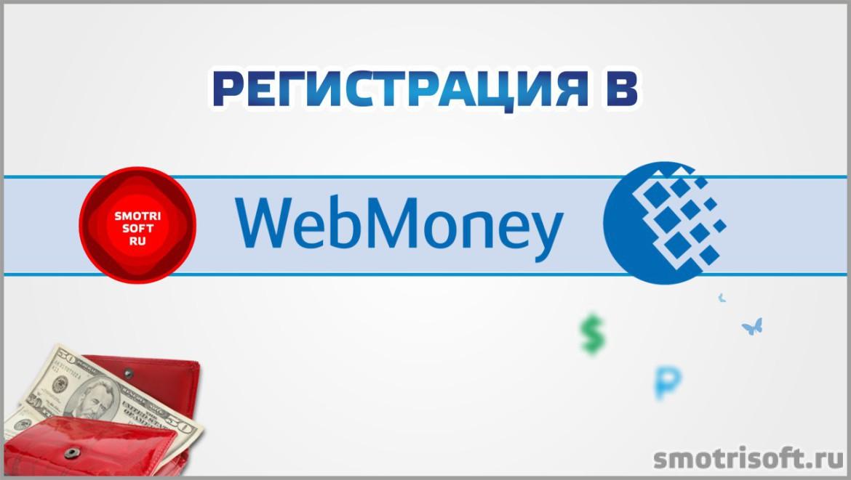 Регистрация WebMoney