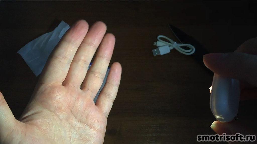 Светодиодная лампа для съемки со смартфона (2)