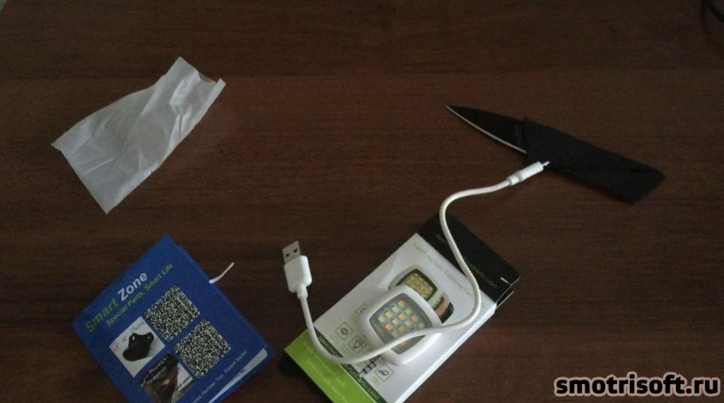 Светодиодная лампа для съемки со смартфона (4)